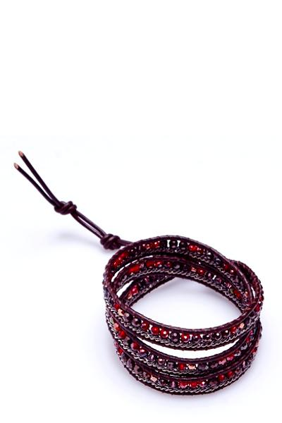 BEADED WRAP BRACELET - Frinje