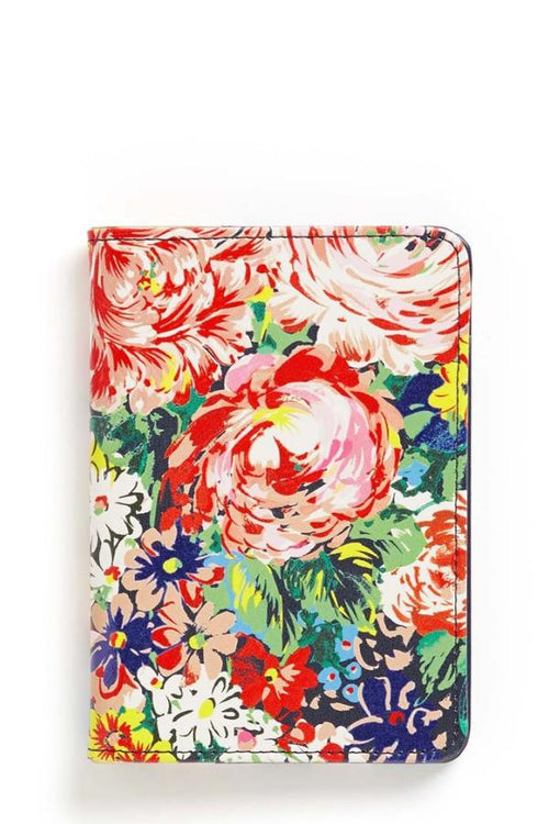 the cutest flowery passport holder