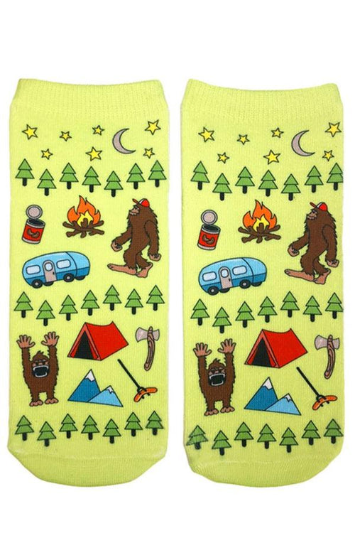 big foot fun ankle socks