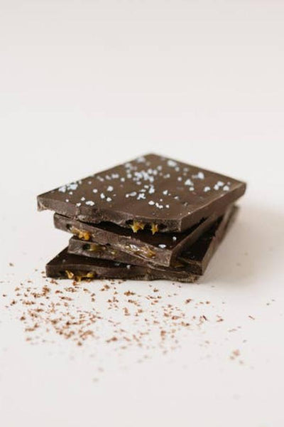 artisan chocolate with sea salt