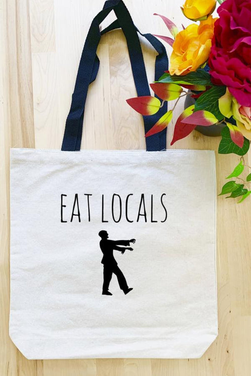 Eat Locals - Tote Bag