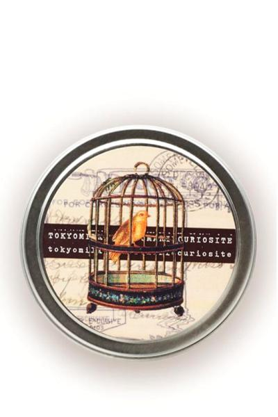 tokyo milk travel candle with bird cage picture