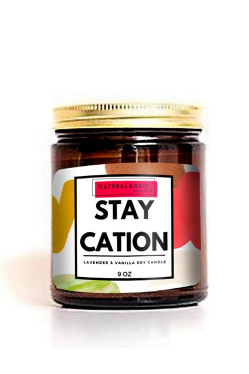 natural soy candle stay cation
