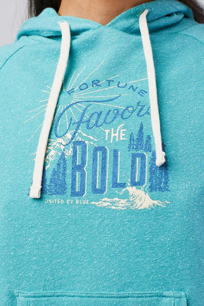 Fortune Favors Hooded Pullover