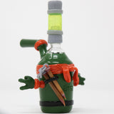 BTGB Glass Ninja Turtle Michaelangelo Water Pipe