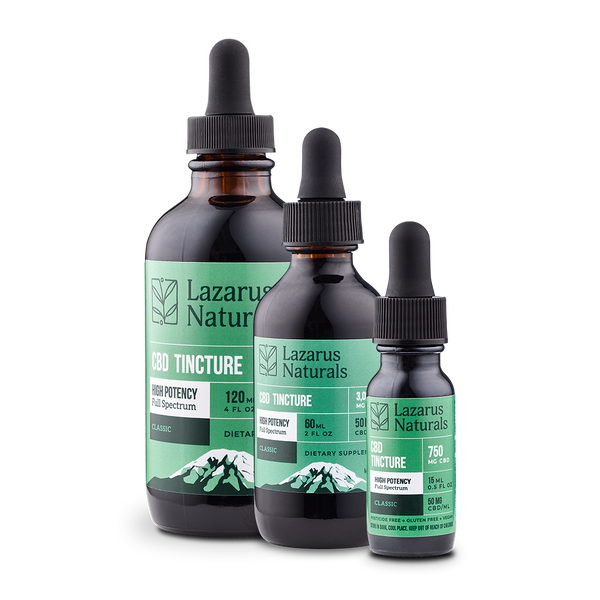Lazarus Naturals CBD High Potency Full Spectrum Tincture