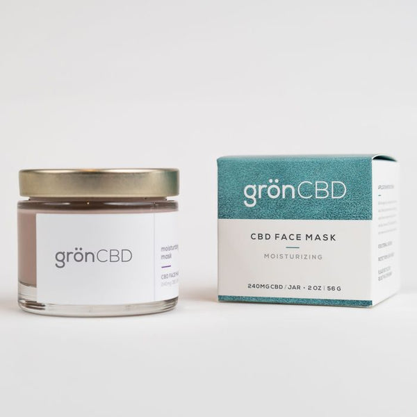 Grön CBD Moisturizing Face Mask