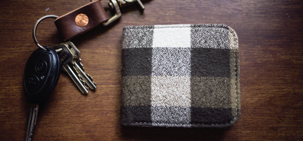 Cedar Ravine Plaid Flannel BiFold Wallet