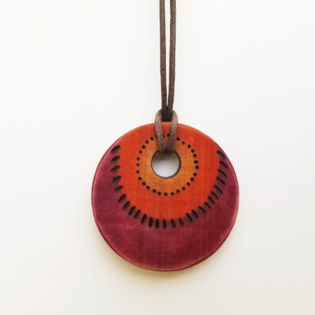 Cedar Pendant Wood Jewelry by CedarRavine.com