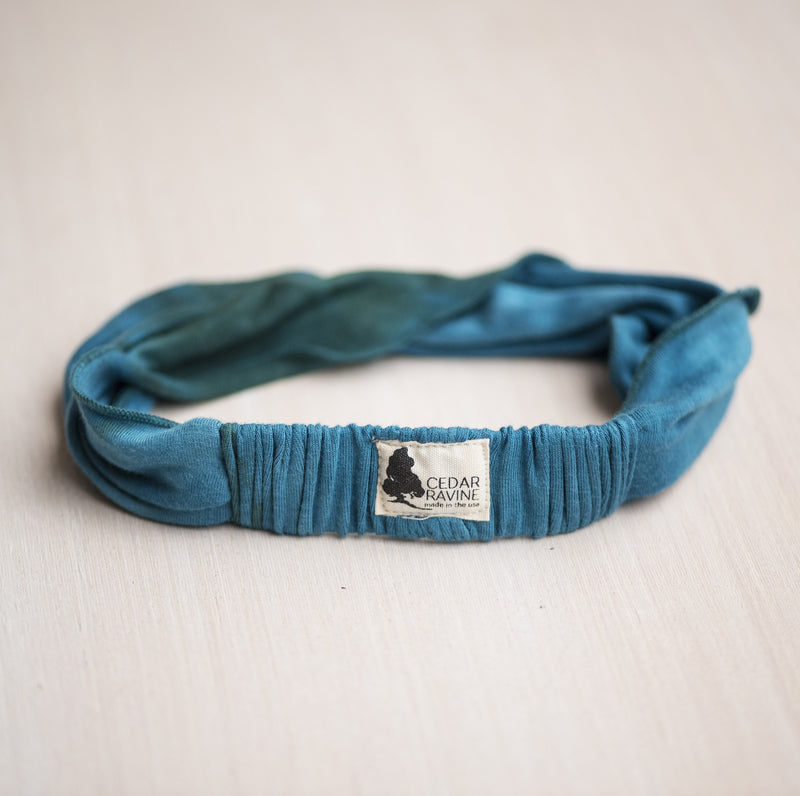 Wait and Sea Tie Dyed Headband - Cedar Ravine - Headbands - 2