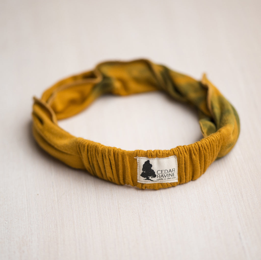 Golden State Tie Dyed Headband - Cedar Ravine - Headbands - 2