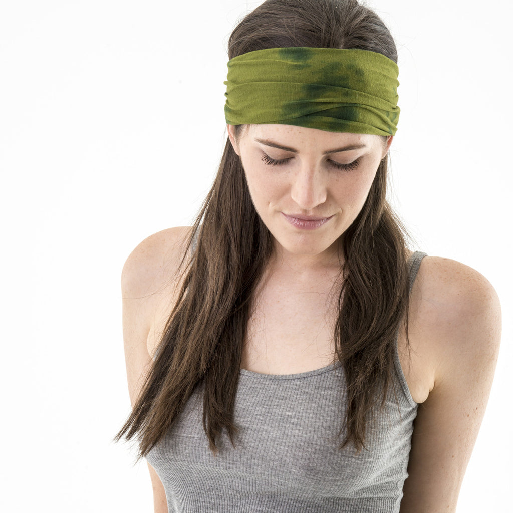 Out on a Limb Tie Dyed Headband
