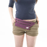 canvas adventure fannypack fanny pack canvas bag made in california by cedar ravine travel accessory hiking bag outdoor purse