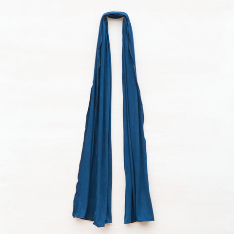 Out of the Blue Hand Dyed Scarf