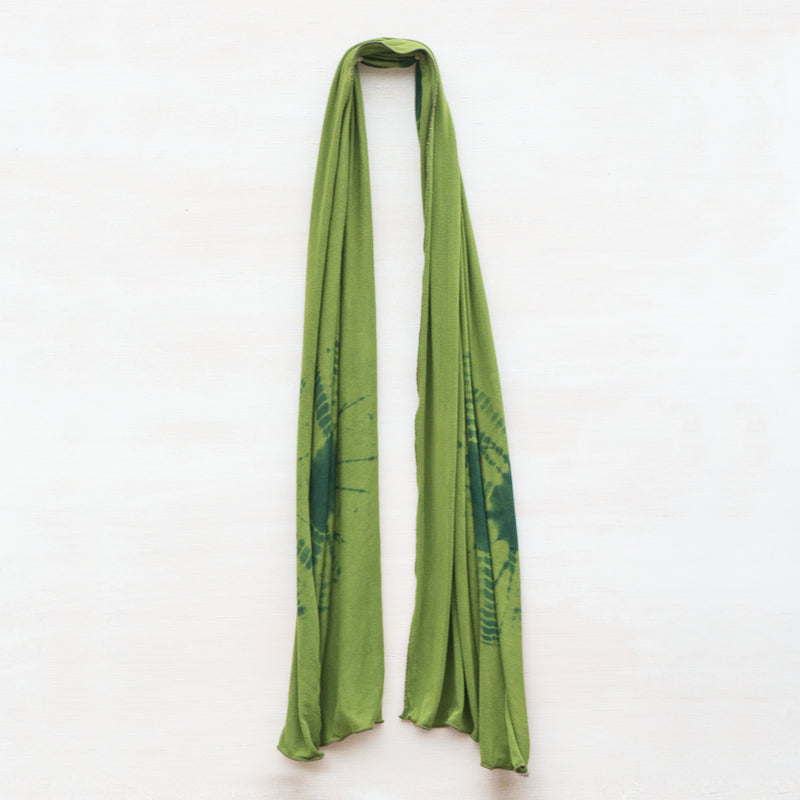 Out on a Limb Tie Dyed Scarf - Cedar Ravine - 1