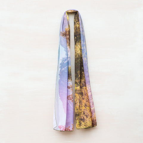 Yosemite National Park Forest Scarf