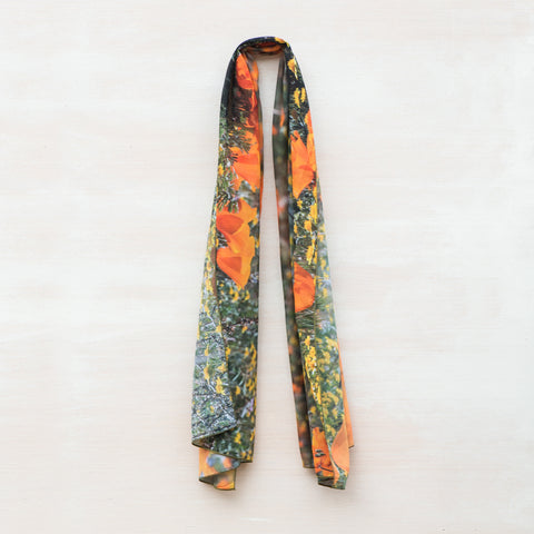 Antelope Valley California Poppy Reserve Scarf