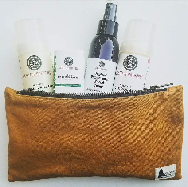 Travel Set: Cedar Ravine / Grateful Naturals