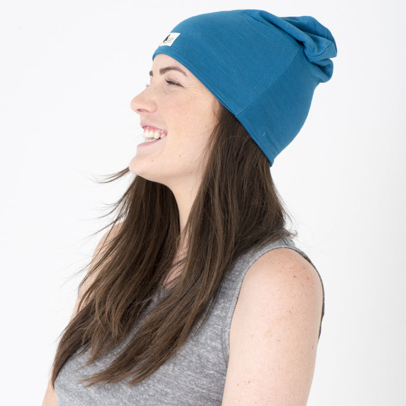 made in california hand dyed soft beanie by cedar ravine tie dye beanie