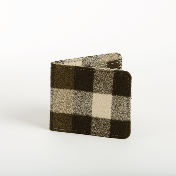 Big Green Plaid Flannel Bifold