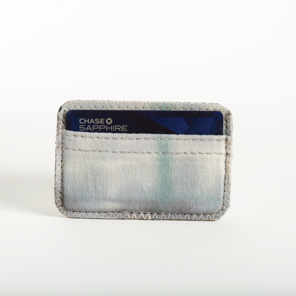 In the Clouds Tie Dyed Cardholder