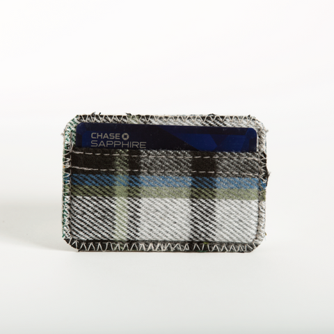 Hunter Plaid Flannel Cardholder