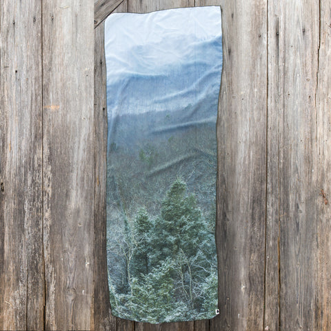 Pisgah National Forest Mountains, North Carolina Scarf