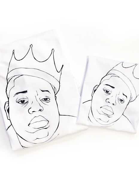 Biggie and Smalls Adults Tees
