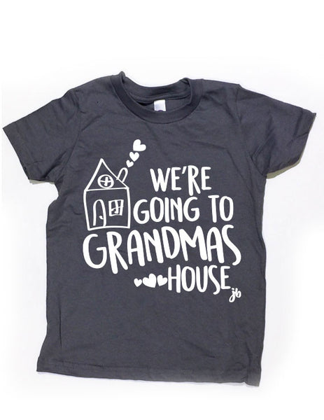 Grandma House Black Shirt