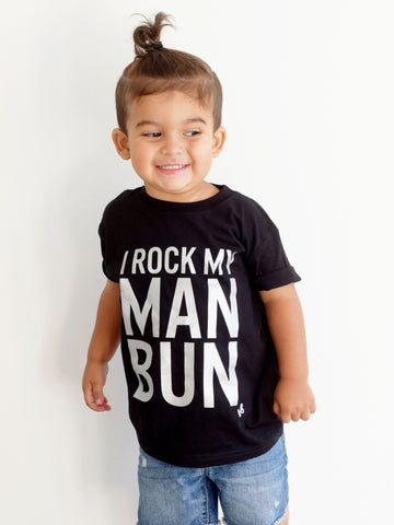 I Rock my Man Bun Shirt