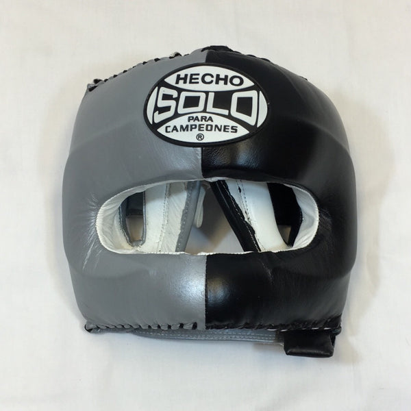 Silver/ Black Head Guard