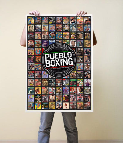 Pueblo Boxing Greats Poster