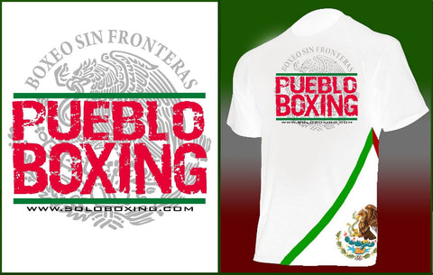 Pueblo Boxing Mexico Ring Walk Out Shirt