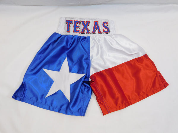 Texas Flag Boxing Trunks
