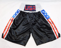 USA Flag Boxing Trunks