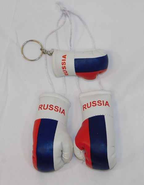 Russia Mini Boxing Gloves