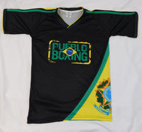 Pueblo Boxing Brazil Flag Shirt