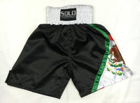 Mexico Flag Boxing Trunks