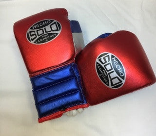 16oz USA Metallic  Sparring Gloves