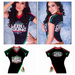 Ladies Pueblo Boxing Mexico DryFit Jersey
