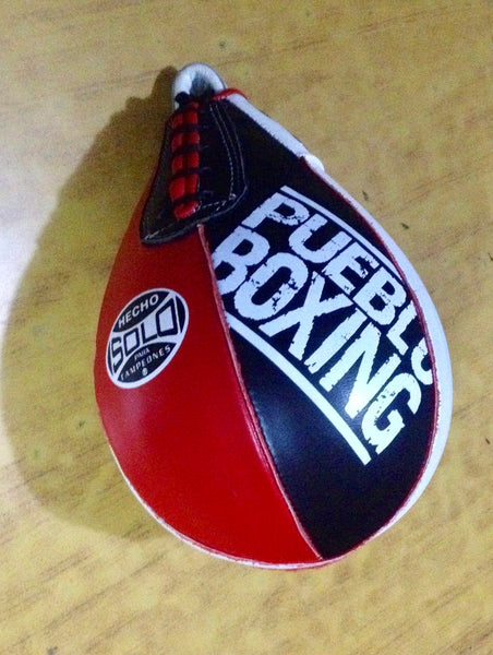 Solo Boxing Leather Speed Bag