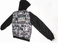 NEW Green Reversible Pueblo Boxing Bomber Jacket