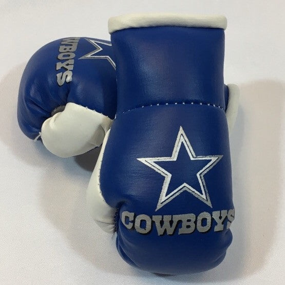 Cowboys Mini Boxing Gloves