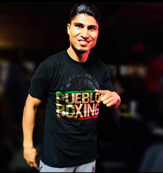Pueblo Boxing Limited Gold Edition T-shirt