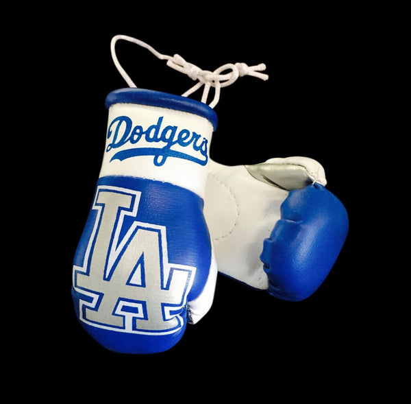 LA Dodgers Mini Boxing Gloves