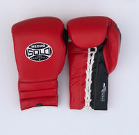 Red and Black Sparring Gloves