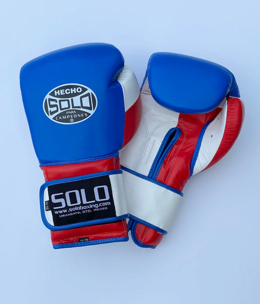 Red/White and Blue Pro Training Gloves