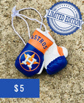 Houston Astros Mini Gloves