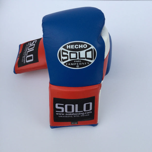 Blue Pro Fight Gloves