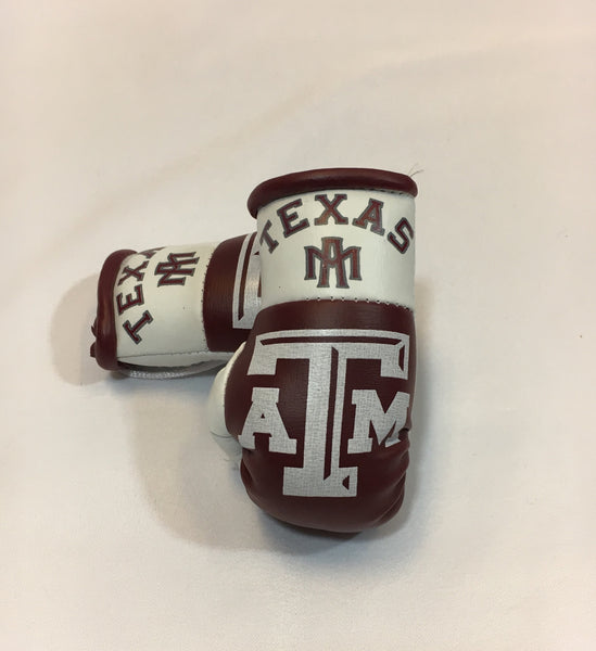 A&M Aggies Mini Boxing Gloves